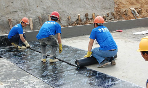 Membranous Waterproofing Al Rafid Insulation Contracting Llc